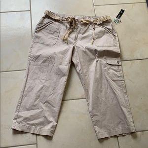 3/$20 NWT boho Capri pants